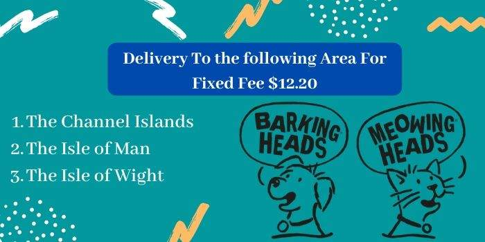 Delivery fees of the Barking Heads