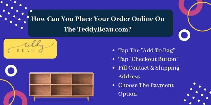 How Can You Place Your Order Online On The TeddyBeau.com
