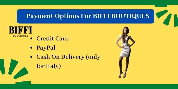Payment for biffi boutiques