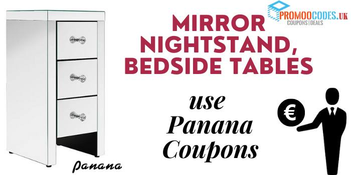 Mirror Nightstand, Bedside Tables