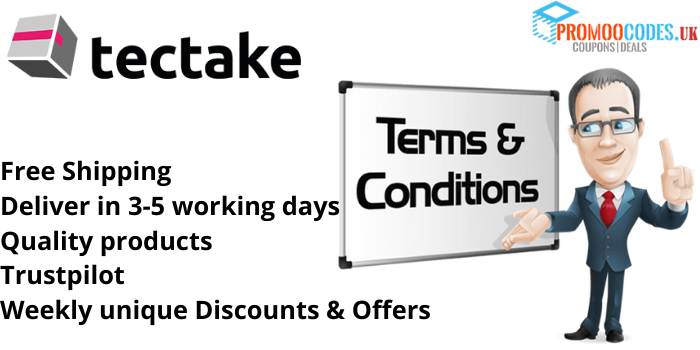 tectake Terms & Conditions