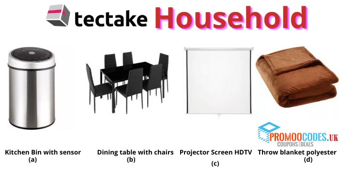 tectake HouseHolds Product Offers