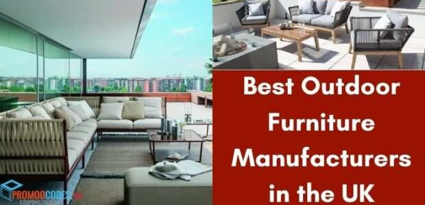 Best Outdoor Furniture Manufacturers in the UK